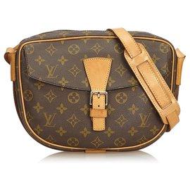 Louis Vuitton-Louis Vuitton Brown Monogram Jeune Fille-Brown