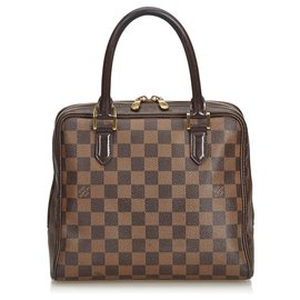 Louis Vuitton-Louis Vuitton Brown Damier Ebene Brera-Brown