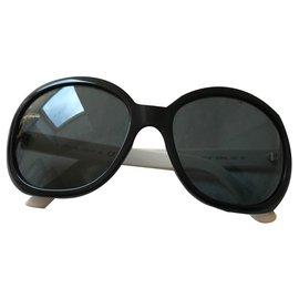 Chanel-Des lunettes de soleil-Blanc
