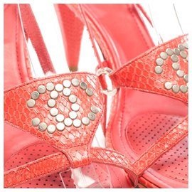 Chanel-Sandals-Coral