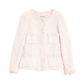 Chanel-PINK PASTEL FR38-Rose
