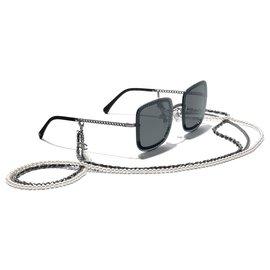 Chanel-SQUARE SUNGLASSES CHANEL SUNGLASSES OCCHIALI DA SOLE-Grey
