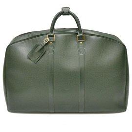 Louis Vuitton-Louis Vuitton Taiga Travel Bag-Green