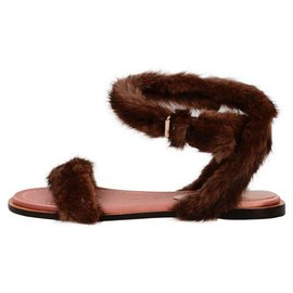 Valentino-Valentino low sandal-Brown