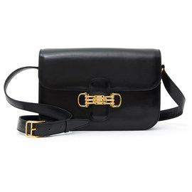 Céline-classic box black vintage mint-Black