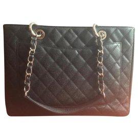 Chanel-shopping bag-White