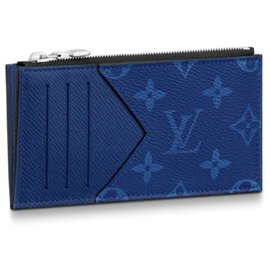 Louis Vuitton-Louis Vuitton card wallet new-Blue