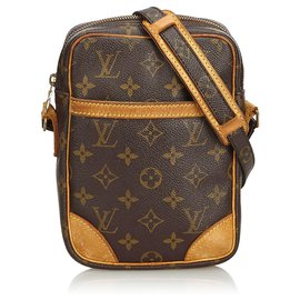 Louis Vuitton-Louis Vuitton Brown Monogram Danube-Brown