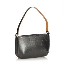 Louis Vuitton-Louis Vuitton Black Monogram Mat Fowler-Black