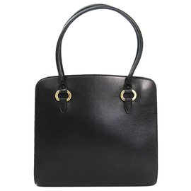 4e78701a9 Delvaux-Delvaux Black Leather Handbag-Black ...