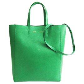 Céline-Celine Green Small Vertical Cabas-Green