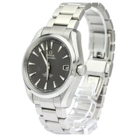 Omega-Omega Silver Stainless Steel Seamaster Aqua Terra Automatic Watch 231.10.39.21.06.001-Black,Silvery