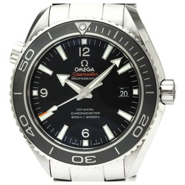 Omega-Omega Silver Stainless Steel Seamaster Planet Ocean Automatic Watch 232.30.46.21.01.001-Black,Silvery