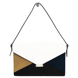 Céline-Celine Multi Diamond Shoulder Bag-Multiple colors