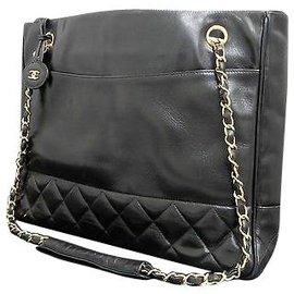 Chanel-Chanel Vintage Tote Bag-Black