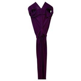 Roland Mouret-Dresses-Purple