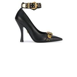 Versace-Heels-Black