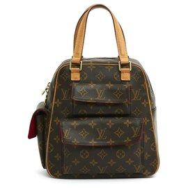 Louis Vuitton-TROTTEUR AND STRAP-Brown