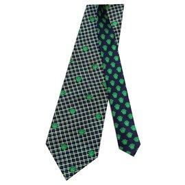 Gianni Versace-Krawatten-Dunkelgrün