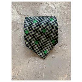 Gianni Versace-Cravates-Vert foncé