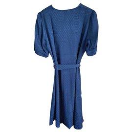 Maje-Dresses-Navy blue
