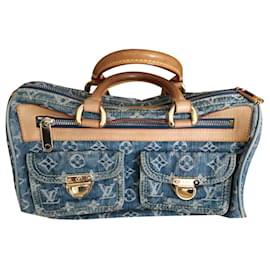 Louis Vuitton-NEO SPEDDY DENIM-Blue