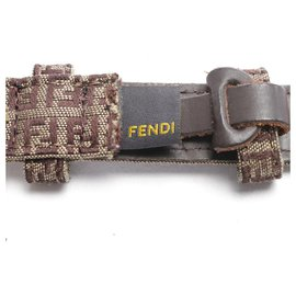 Fendi-Belts-Brown
