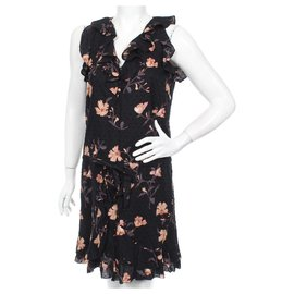 Paige Jeans-Farfalla Black/Desert Sunrise-Poppy Dress-Multiple colors