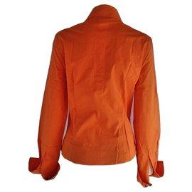 Versace-Versace Jeans Couture Medusa Shirt-Orange