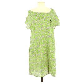 Cotélac-Robe-Vert clair