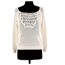 Maje-Sweater-White