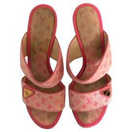 Louis Vuitton-Sandales-Rose