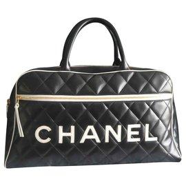 Chanel-BOSTON Travel & Sport CHANEL-Black