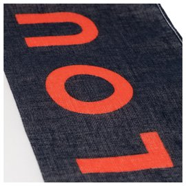 Louis Vuitton-Bandana Collector Louis Vuitton Cup 2003 en excellent état !-Noir,Blanc,Rouge,Jaune