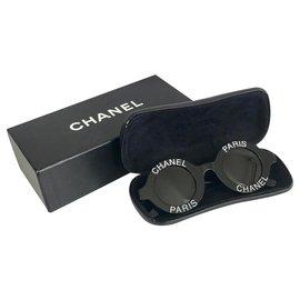 Chanel-Chanel Paris Collector vintage glasses-Black