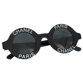 Chanel-Lunettes Chanel Paris Collector vintage-Noir