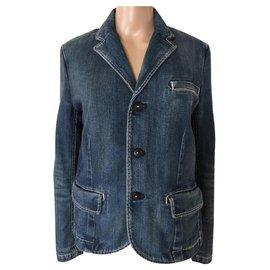 Polo Ralph Lauren-Manteaux, Vêtements d'extérieur-Bleu