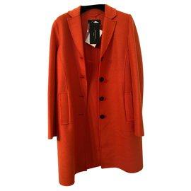 Max Mara-Manteaux, Vêtements d'extérieur-Orange
