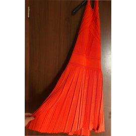 Balmain-Robes-Orange