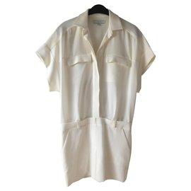 Iro-Combinaison jupe Iro taille 34-Blanc cassé