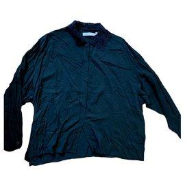 Chantal Thomass-Wrap blouse-Black