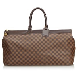 Louis Vuitton-Louis Vuitton Brown Damier Ebene Greenwich GM-Marron