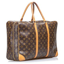 Louis Vuitton-Louis Vuitton Brown Monogram Sirius 45-Marron