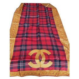 Chanel-Scarves-Multiple colors