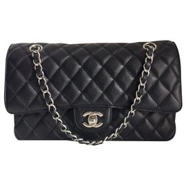 Chanel-timeless double flap-Black
