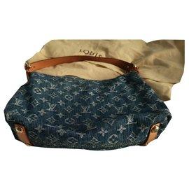 Louis Vuitton-Hand bags-Blue