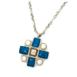 Chanel-PRUSSIAN PEARL-Argenté,Bleu