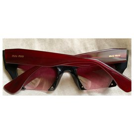 Miu Miu-Miu Miu lunettes de soleil-Noir