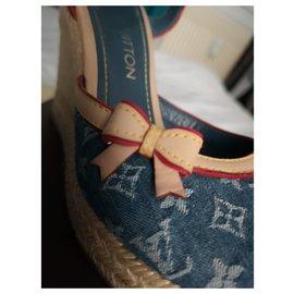 Louis Vuitton-Sandals-Blue