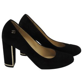 Chanel-Chanel pumps-Black